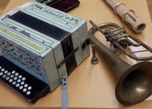 Besuch im Referat der Volksmusik in Bozen