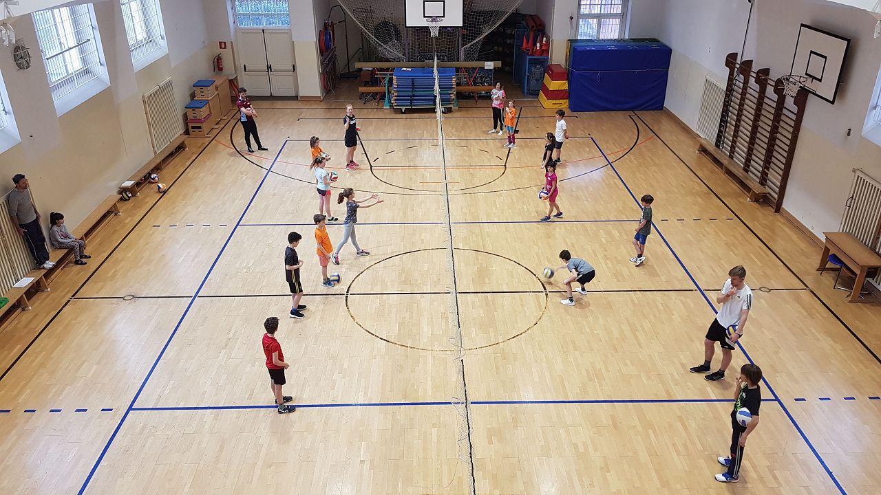 Sportprojekt mit Gymme