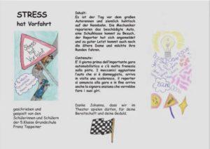 Theaterprojekt 5. Klasse Tappeiner