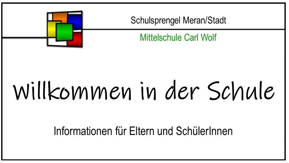 Willkommen CARL WOLF 2020/2021