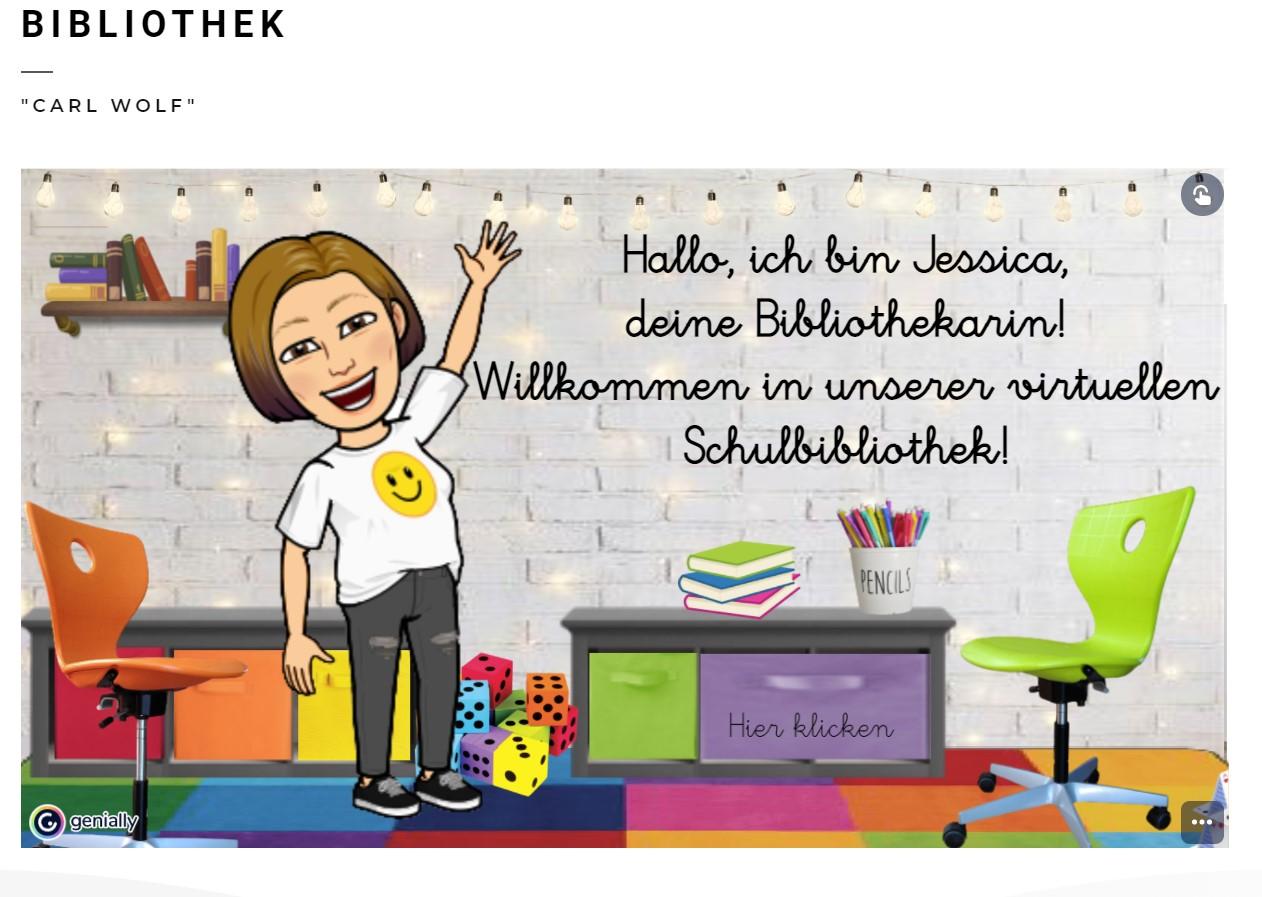 Read more about the article Virtuelle Bibliothek der Mittelschule geht online